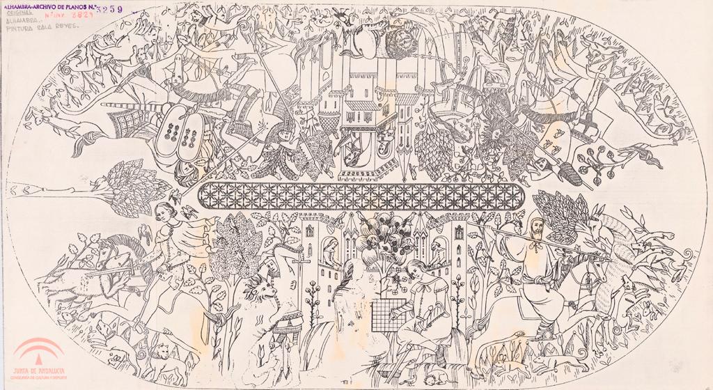 Datoonz.com = Pinturas Sala De Los Reyes ~ Várias idéias de design atraente p...