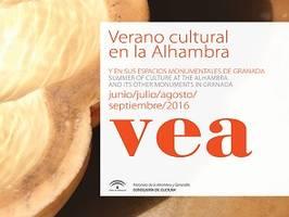 VEA 2016. Verano cultural en la Alhambra