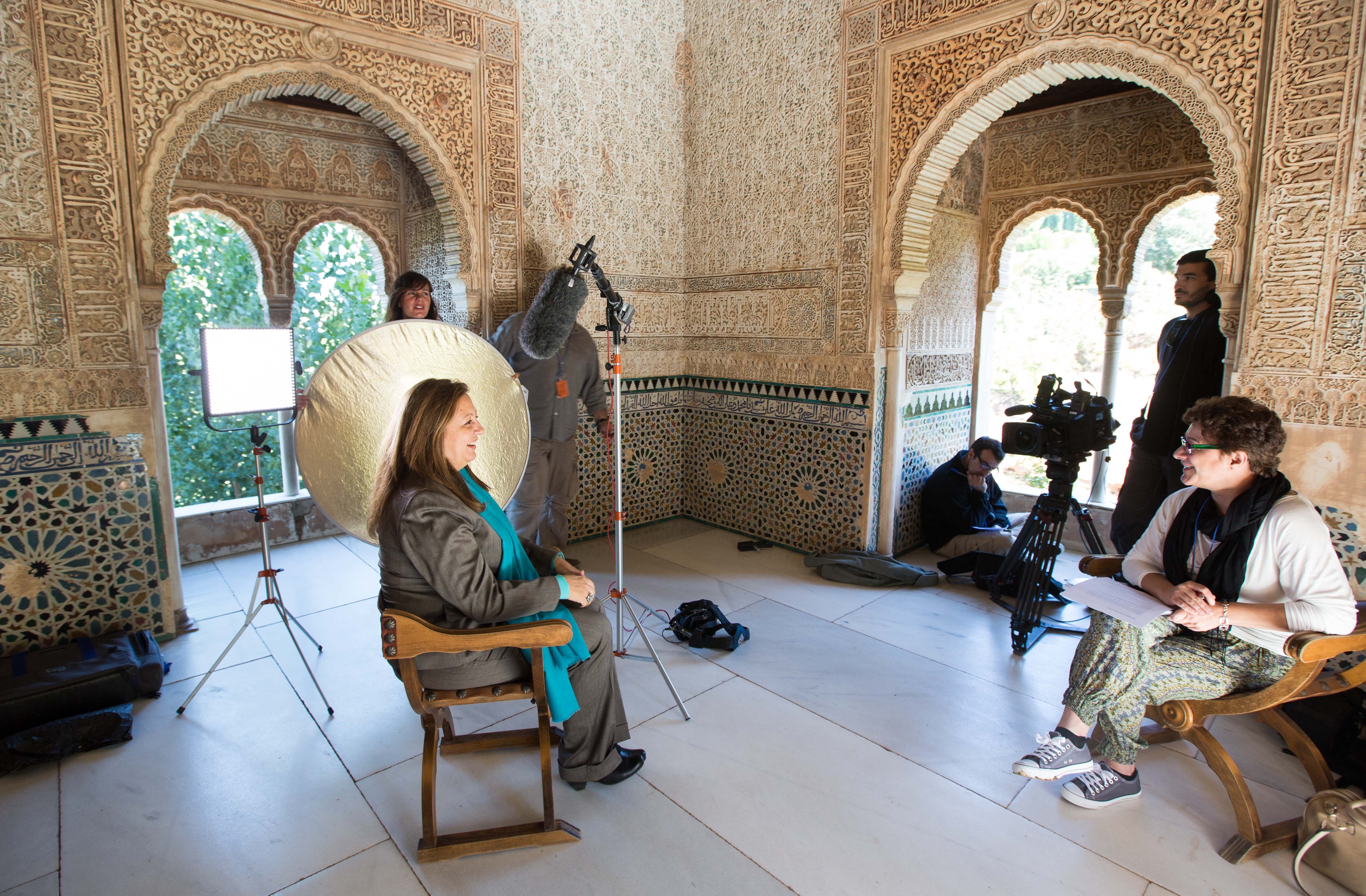 La Alhambra, protagonista del programa Crónicas de La2
