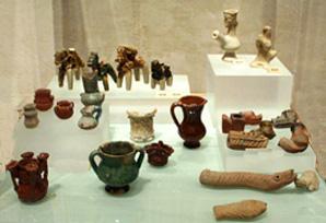 Juguetes nazaríes de cerámica