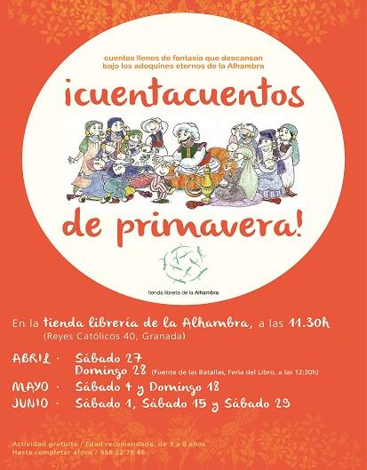 Cuenta Cuentos en la Tienda y Librería de la Alhambra