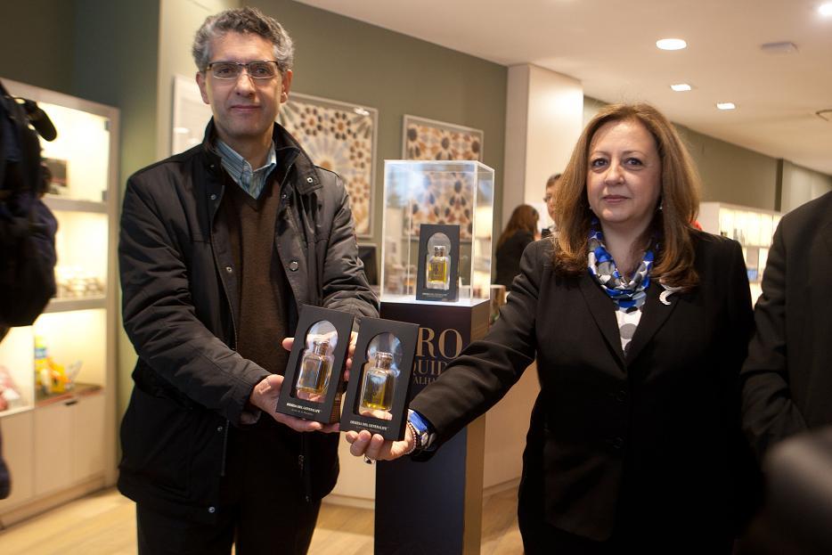 La Alhambra presenta su nueva producción de aceite de oliva virgen extra de los olivares de la Dehesa del Generalife con un innovador envase