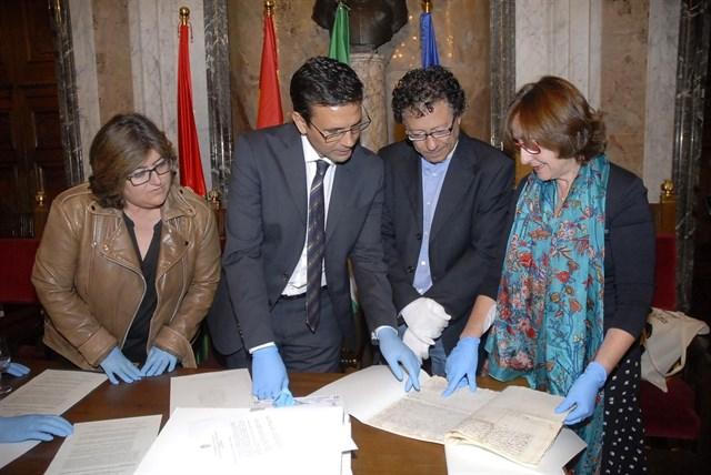 El Archivo de la Alhambra recupera tres documentos históricos del siglo XVI
