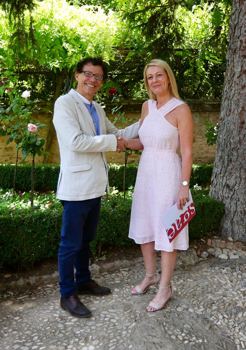 La Fundación SGAE y el Patronato de la Alhambra firman un convenio marco de colaboración cultural