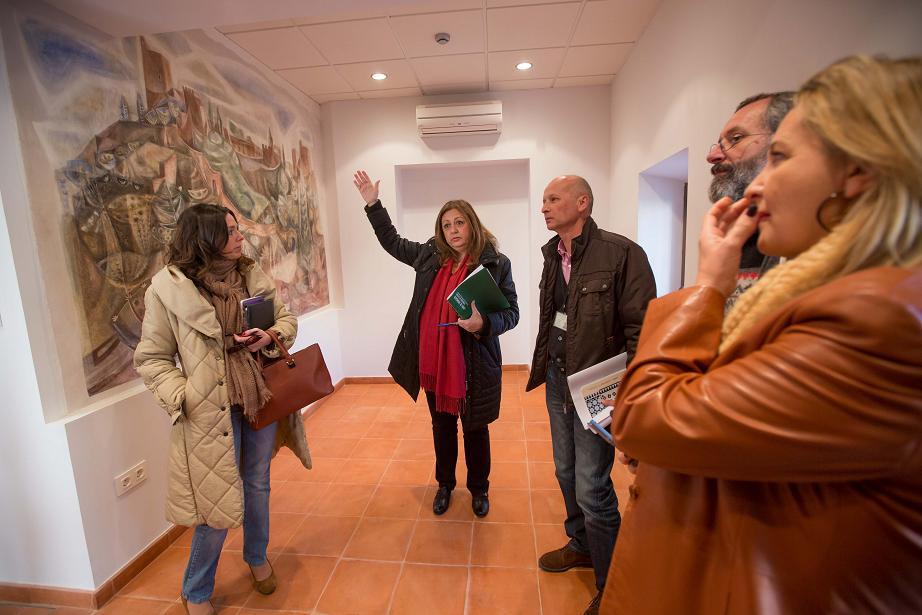 La Alhambra abrirá un nuevo Punto de Atención al Visitante, junto al Palacio de Carlos V, en enero de 2013