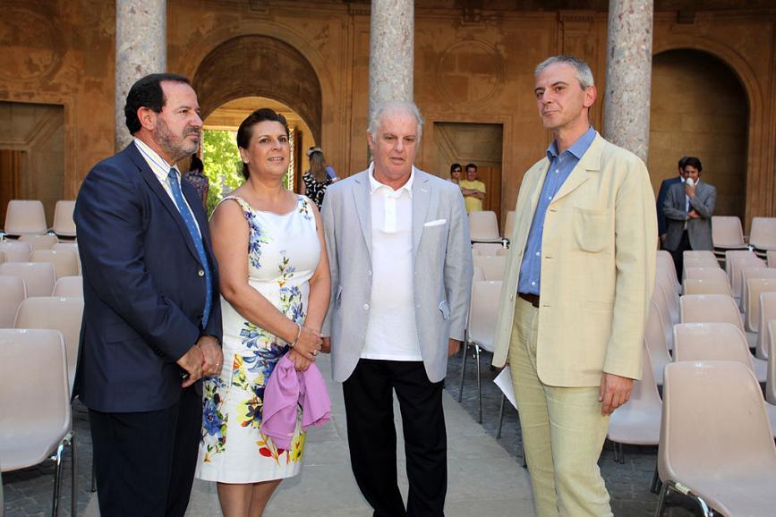 Daniel Barenboim clausurará el 58 Festival Internacional de Música y Danza en el Palacio de Carlos V