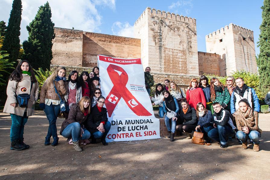 La Alhambra, en el Día Mundial de la Lucha contra el Sida