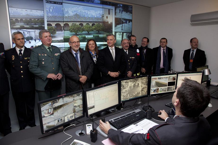 La Alhambra implanta un sistema integral de seguridad de última tecnología y pionero en el ámbito del Patrimonio