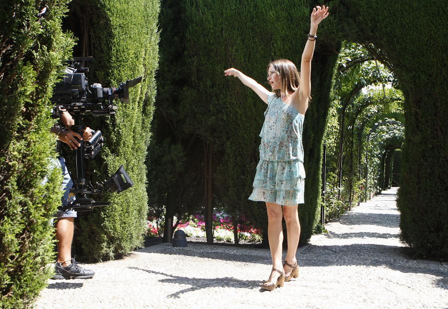 Sharon Corr elige la Alhambra como escenario de su próximo videoclip