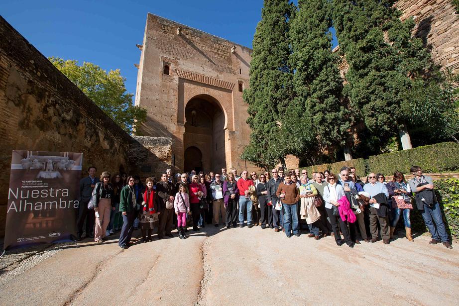 La Alhambra inicia su jornada de Puertas Abiertas con diversas actividades