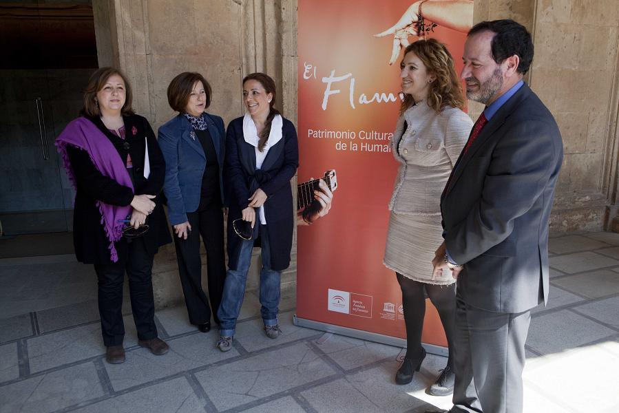 Eva Yerbabuena, protagonista del programa Lorca y Granada en los Jardines del Generalife