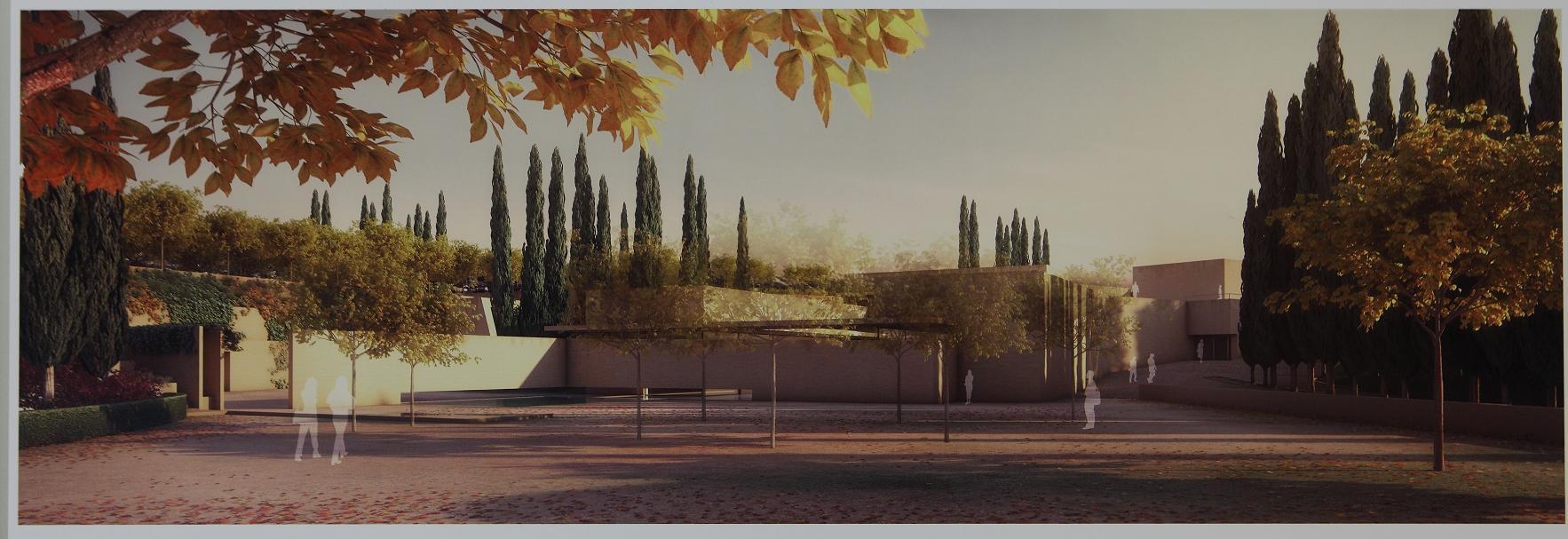 """""""Puerta Nueva"""", de Álvaro Siza y Juan Domingo Santos, primer premio del Concurso Internacional de Ideas Atrio de la Alhambra"""