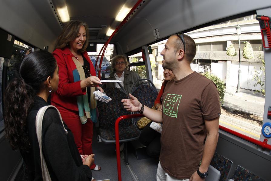 Leer a Washington Irving en el autobús
