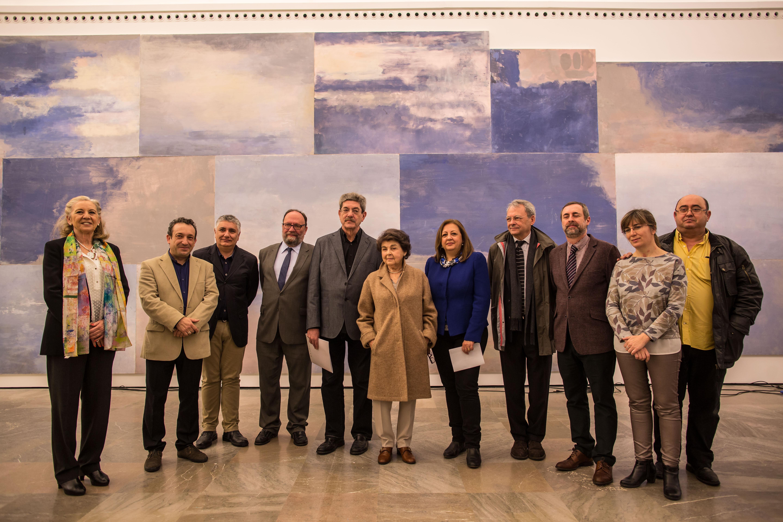La Alhambra y Granada exhiben el viaje artístico de Carmen Laffón a través de los paisajes de Andalucía