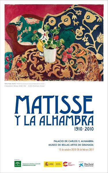 Exposición Matisse y la Alhambra (1910-2010)