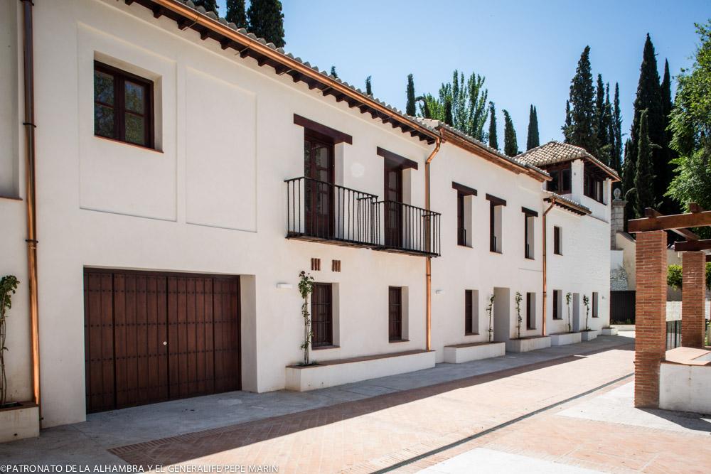 Las Casas de la Mimbre, nueva área educativa de la Alhambra