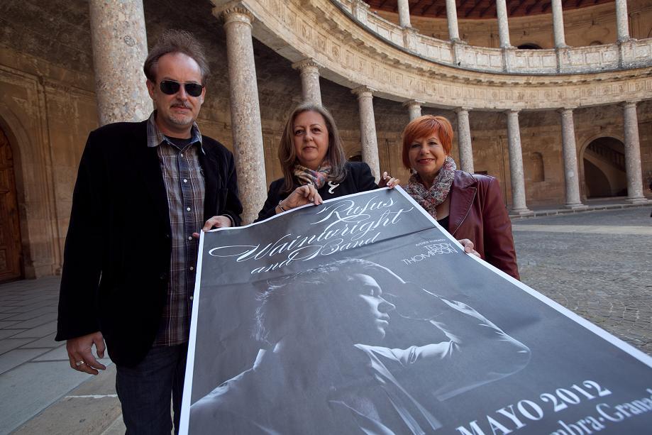 El Anfiteatro del Generalife, escenario para el concierto del cantante norteamericano Rufus Wainwright