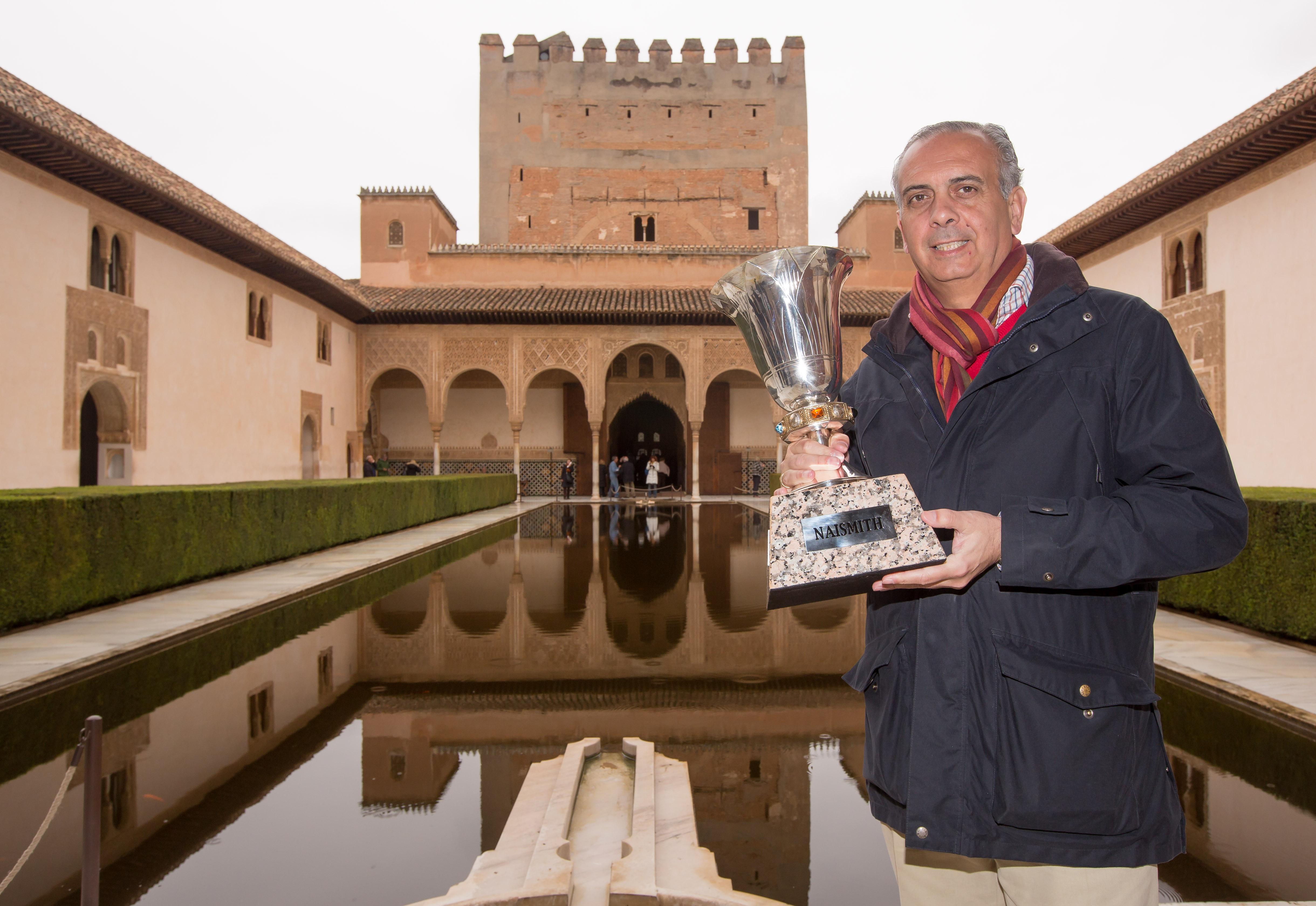 Alhambra, con la Copa del Mundo de Baloncesto