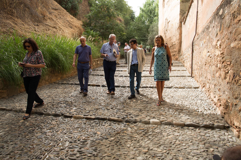 La Alhambra y el Albaicín, más cerca a través de la Cuesta de los Chinos