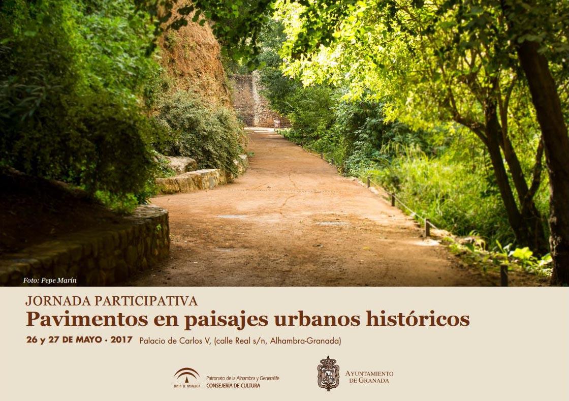 Pavimentos en paisajes urbanos históricos