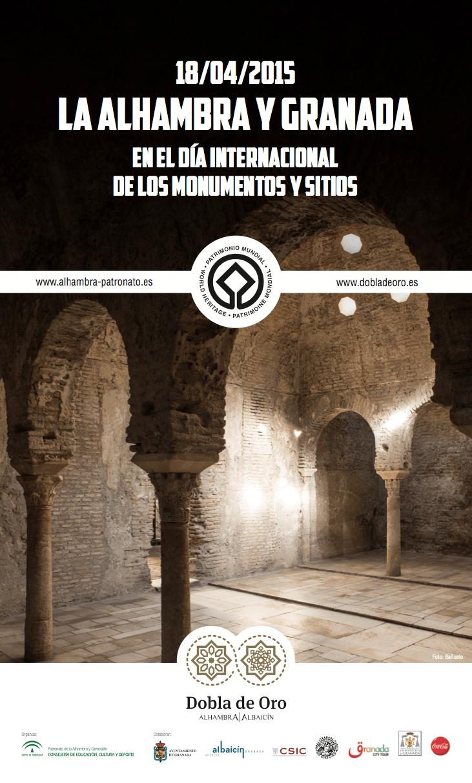 La Alhambra y Granada celebran el Día de los Monumentos con visitas guiadas gratuitas por los espacios de la Dobla de Oro