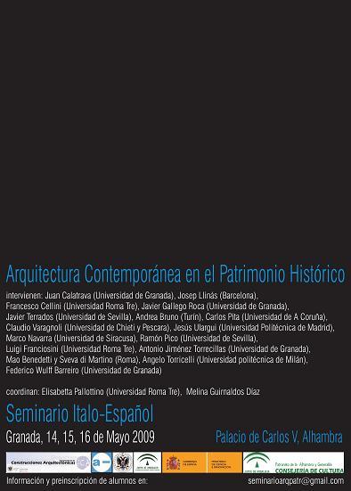 Arquitectura Contemporánea en el Patrimonio Histórico