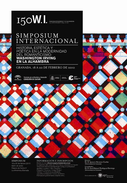 'Historia, estética y poética en la modernidad del Romanticismo: Washington Irving en la Alhambra'