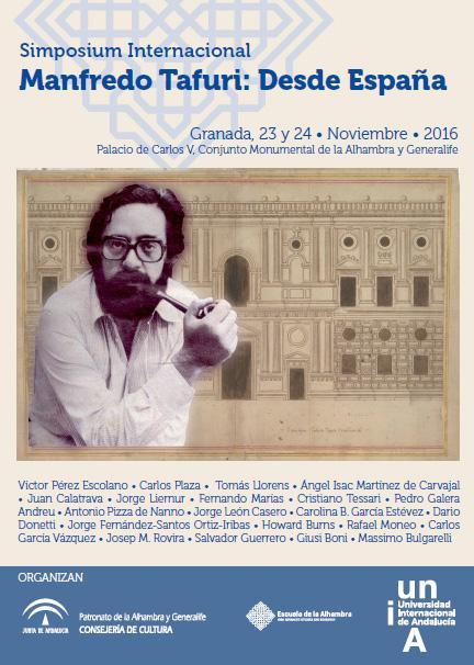 La Escuela de la Alhambra organiza un seminario internacional dedicado al profesor Manfredo Tafuri (1935-1994)