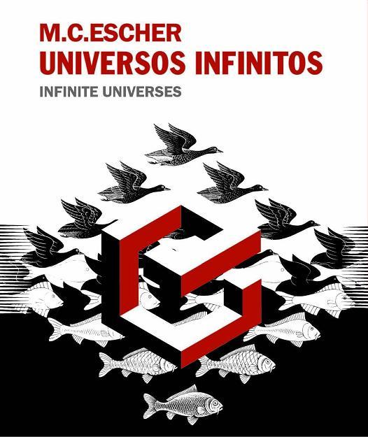 Catálogo de la exposición M.C. Escher. Universos infinitos