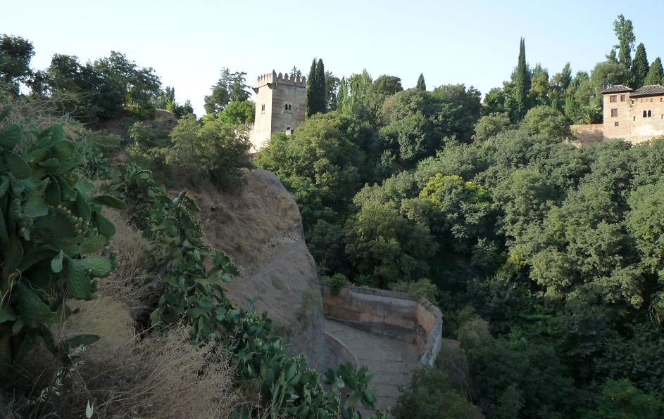 El Patronato de la Alhambra actuará de forma integral en la Cuesta del Rey Chico