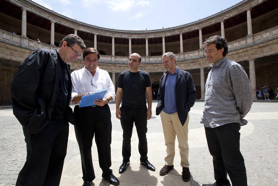 El arquitecto Vicente Guallart clausura en la Alhambra el curso 'Arquitectura, paisaje y medio ambiente'