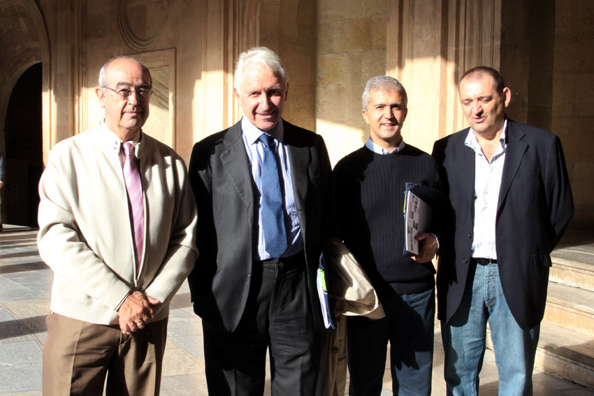 """La relación de la Alhambra con la ciudad, objeto de debate en la cuarta jornada del curso """"la Alhambra y el Patrimonio Mundial"""""""