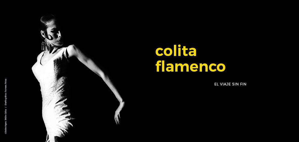 El viaje sin fin de 'Colita' en la Alhambra a través del flamenco