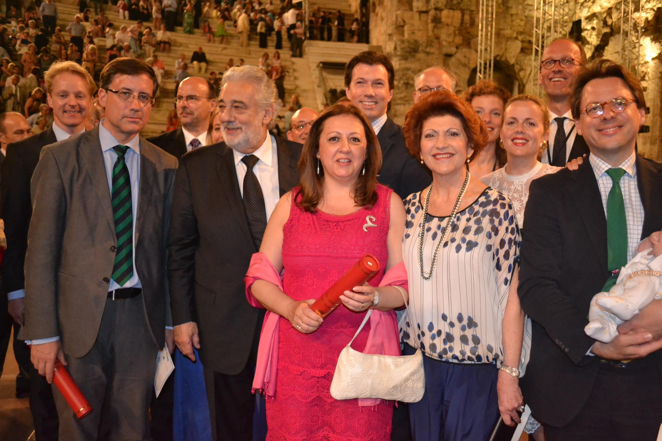 La Alhambra, protagonista de la entrega de los Premios Europa Nostra en Atenas por la restauración del Patio de los Leones