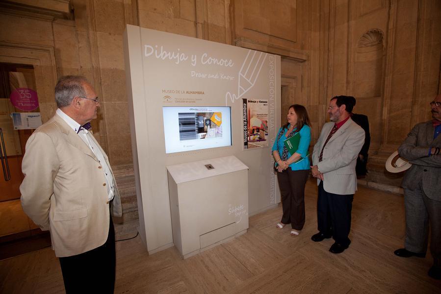 La Alhambra celebra el Día Internacional de los Museos con visitas guiadas a la exposición permanente y una quedada virtual