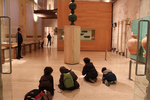 Dibuja en el Museo de la Alhambra