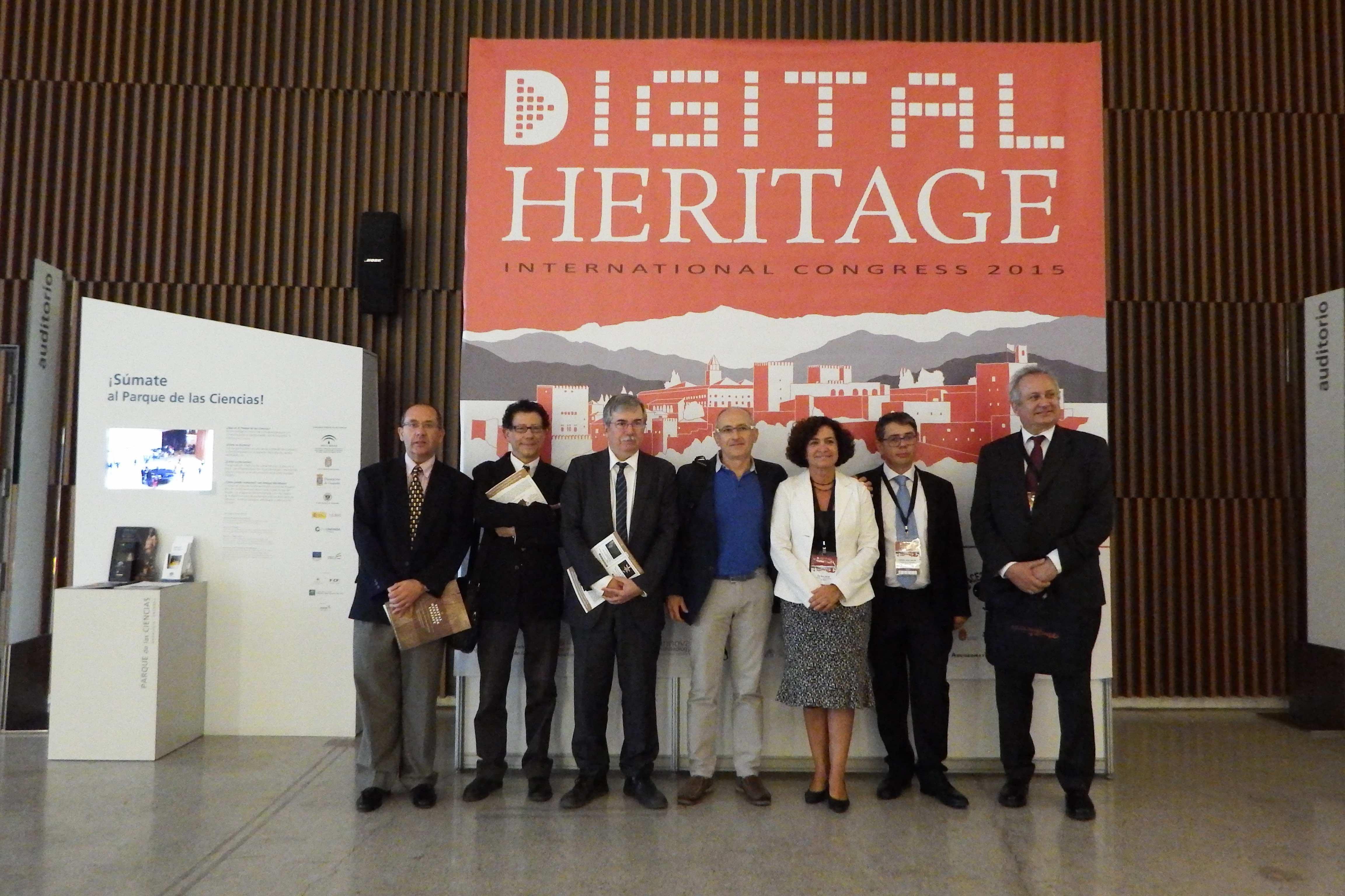 Especialistas de 45 países abordan en Granada el  maridaje entre Nuevas Tecnologías y patrimonio cultural