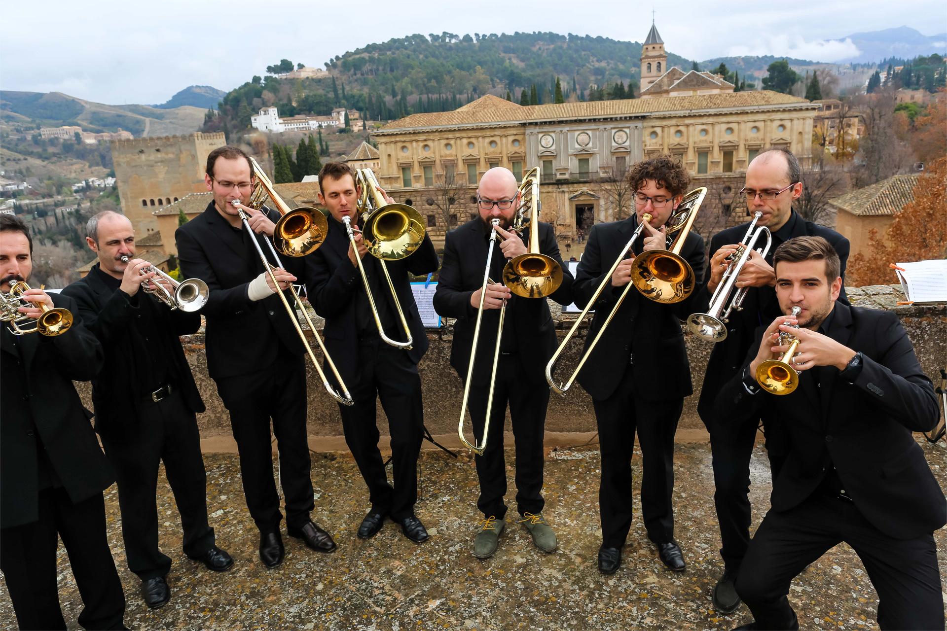 """Un concierto de ministriles cierra en la Alhambra el ciclo """"Patrimonio de la Humanidad y Música"""""""