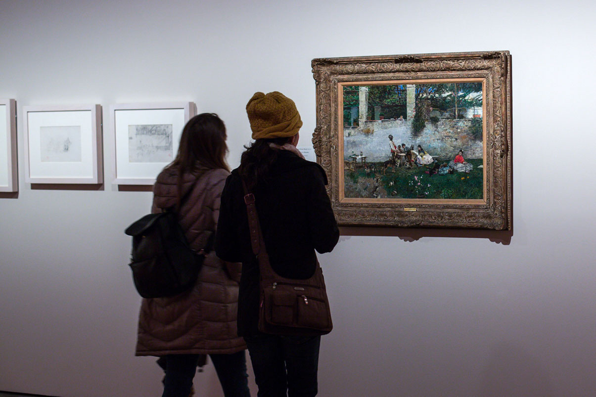 Cerca de 40.000 visitantes en las exposiciones de Fortuny y 'El legado de al-ándalus' en la Alhambra