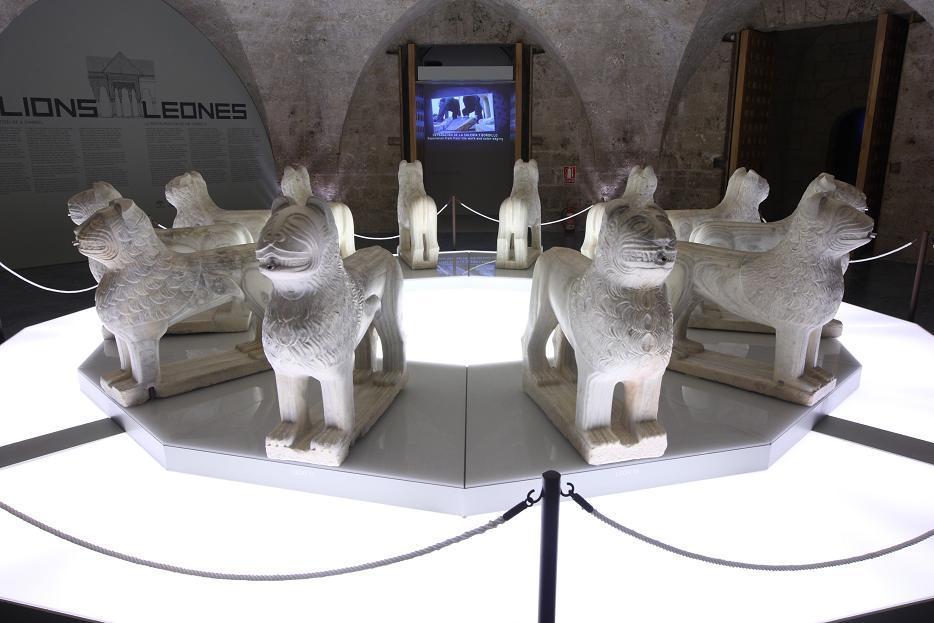 Últimos días de la exposición Leones, la restauración de un símbolo