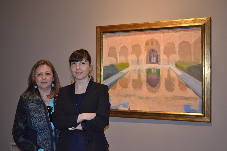 La Alhambra de Sorolla llena de luz y color Italia