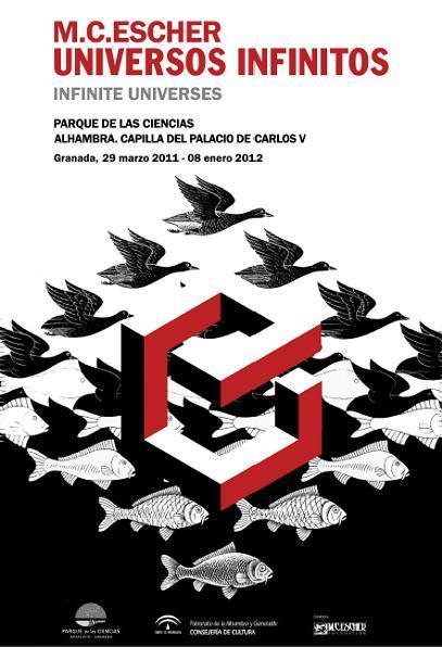 Exposición M.C. Escher. Universos Infinitos