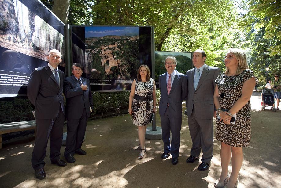 La Exposición 'Bosques del Mundo' llega a la Alhambra