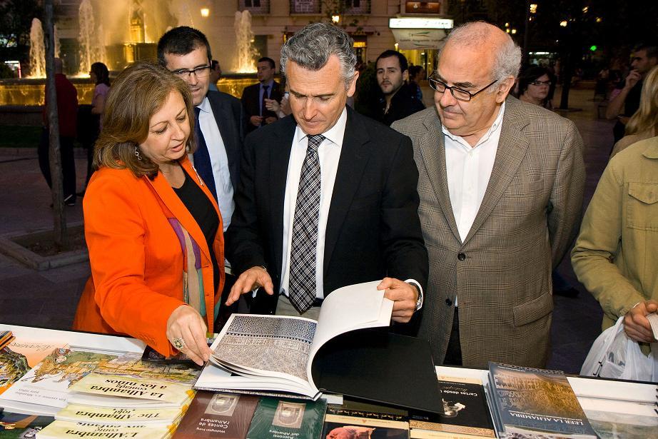 La Alhambra, en la Feria del Libro 2011