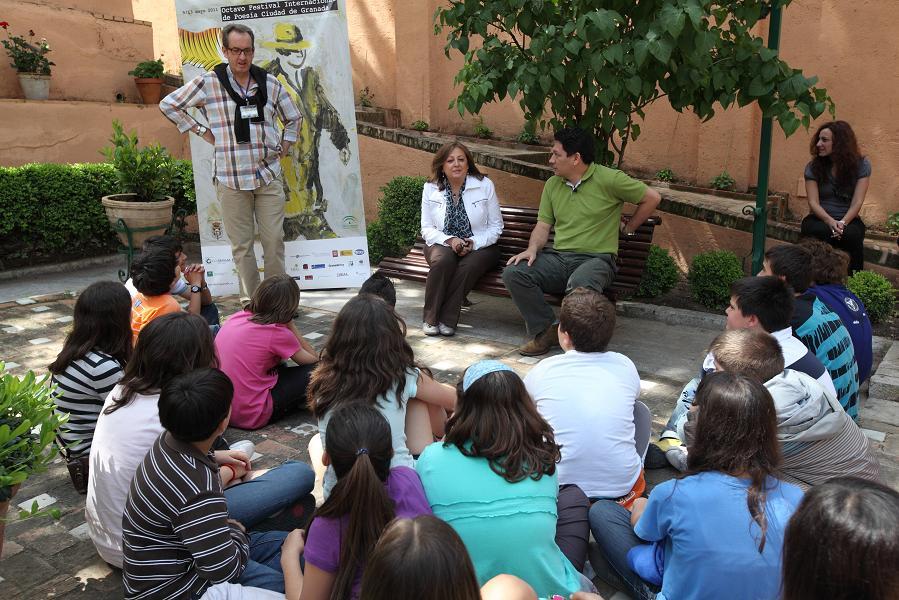 Poesía en la Alhambra