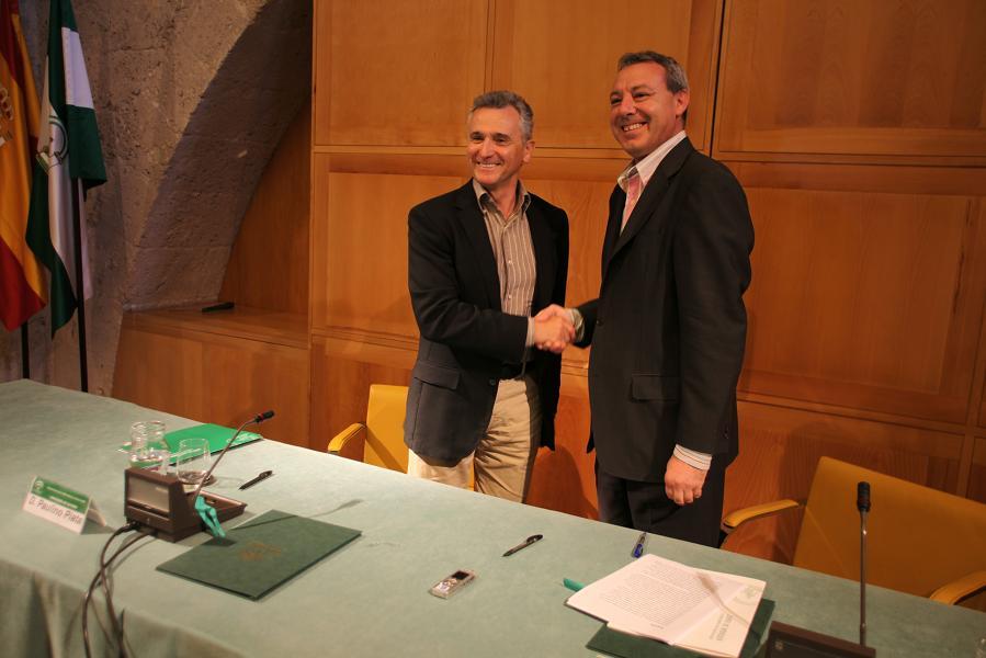 Los consejeros de Cultura y Educación firman un acuerdo de colaboración entre el Patronato de la Alhambra y el Consorcio Parque de las Ciencias
