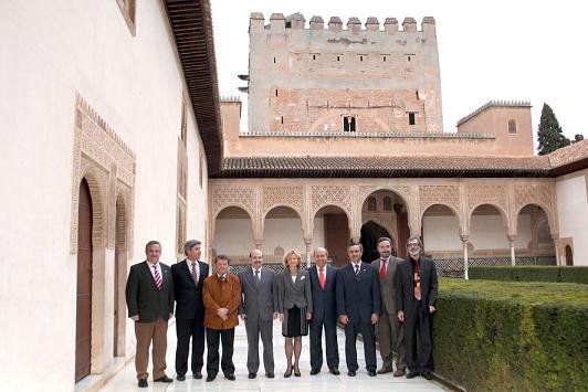 El Consorcio del Milenio se firma en la Alhambra