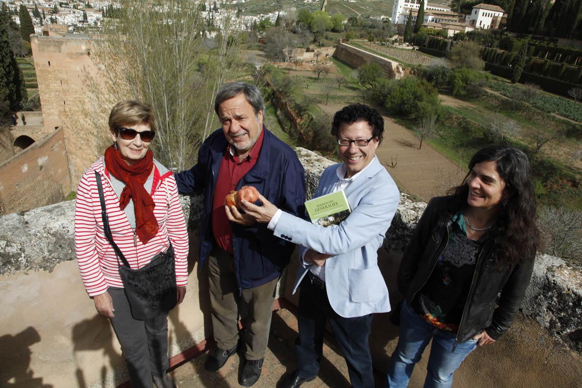La Alhambra creará una colección de granados históricos en las Huertas medievales del Generalife