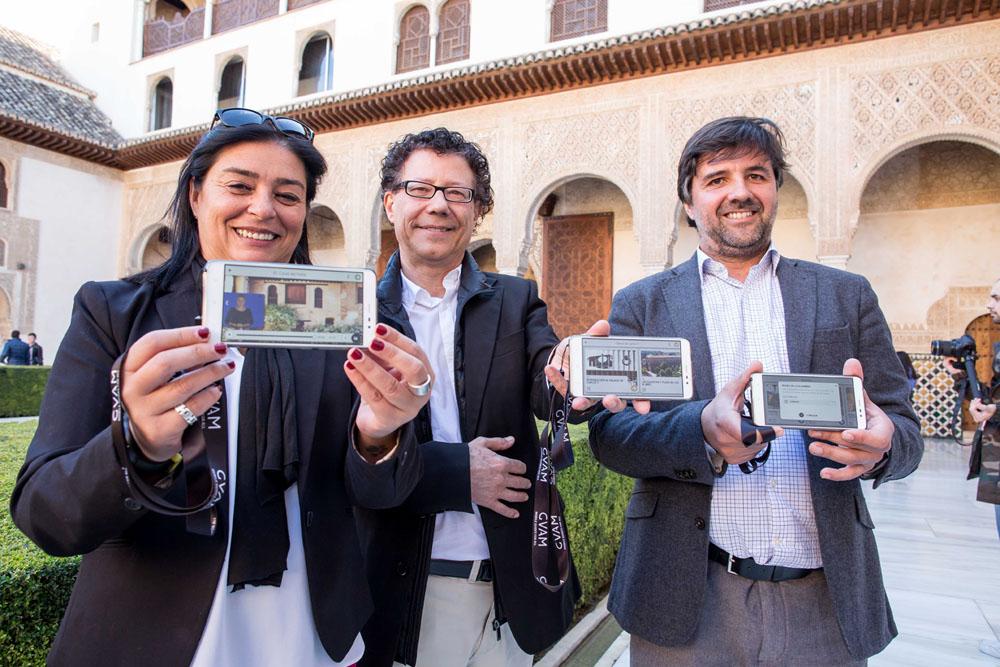 La Alhambra estrena un nuevo servicio de guiado multimedia accesible y a la vanguardia en tecnología a nivel nacional