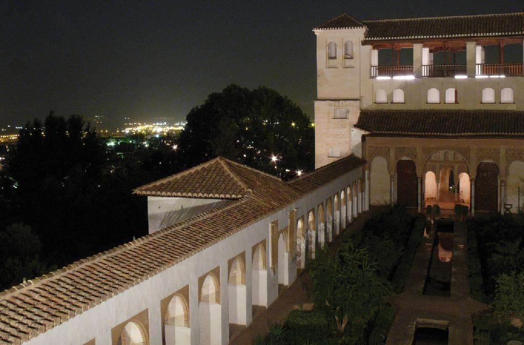 Visitas nocturnas por los Jardines y el Palacio del Generalife